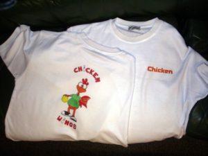 T-Shirt bedruckt mit Textildruck - Verfahren Sublimationsdruck
