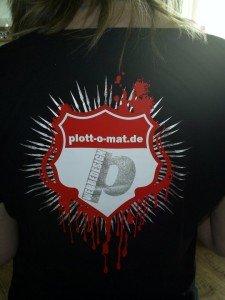 T-Shirt Textildruck mit 3 Flexfolien
