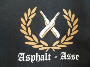 Textildruck mit Flexfolien für Asphalt-Asse
