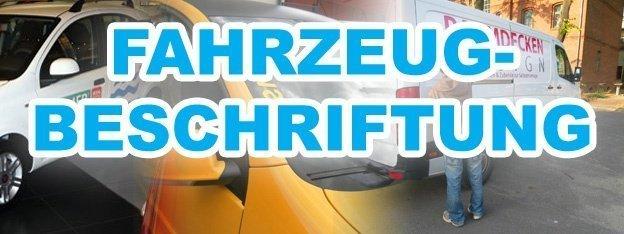 Fahrzeugbeschriftung Berlin Marzahn