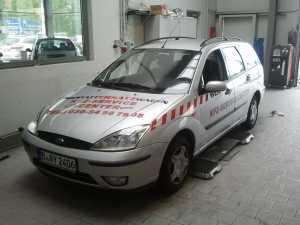 Fahrzeugbeschriftung mit Klebefolien
