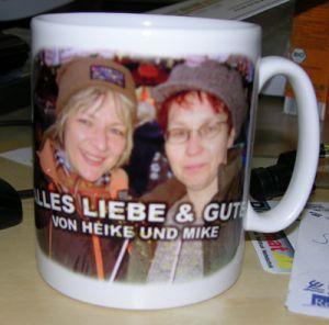 Tasse bedruckt mit Foto