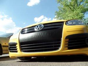 VW Yellowspeed 3D Beklebung
