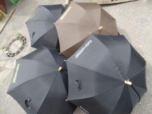 bedruckte Regenschirme mit Flexfolie für RACE@AIRPORT Werneuchen