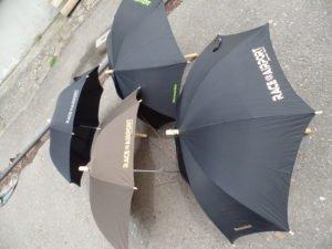 Regenschirme für RACE@AIRPORT Werneuchen